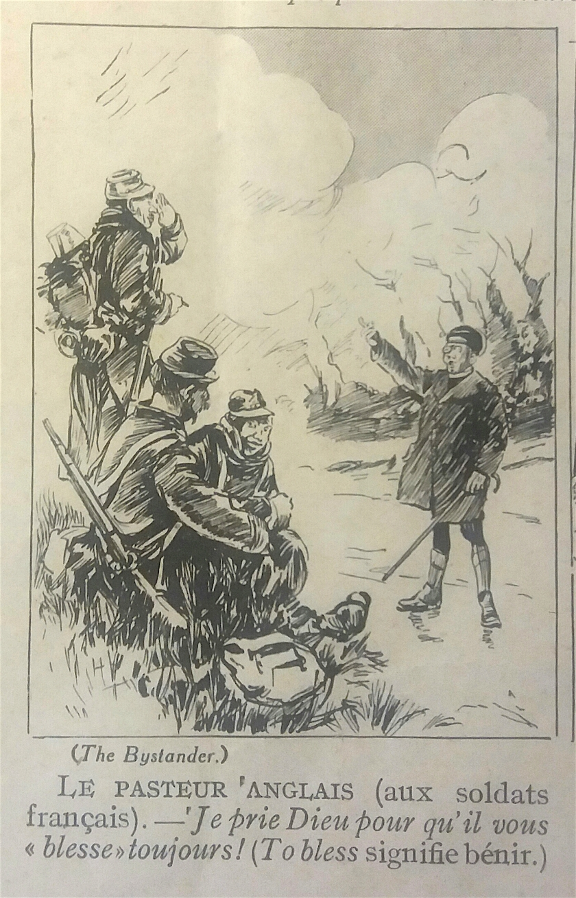Bystander cartoon Juin 16 Baionette